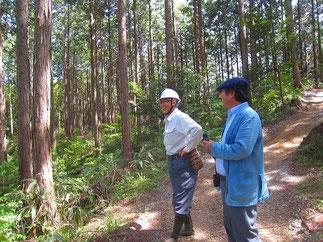 鳥取県智頭町で作業道をつくる自伐型林業者との出会い