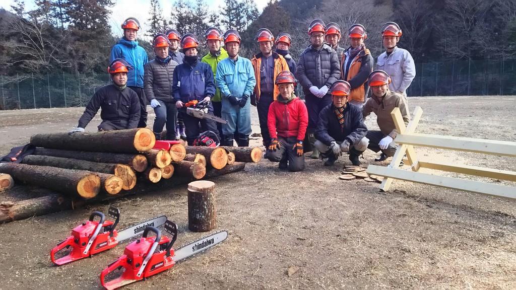 「自伐型林業家養成学部」一期生メンバー