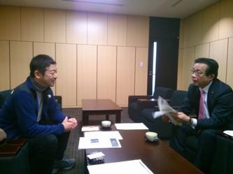 長浜市でいよいよ自伐型林業の準備スタート─「鳥獣害対策とあわせた地方創生案を出していきましょう」と藤井市長