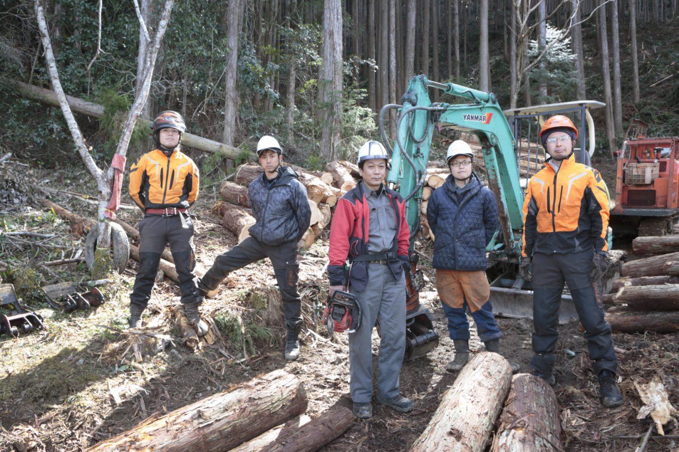 明神林業「ここはどん詰まり集落、自伐起業村」(高知県仁淀川町)