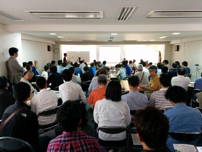 7月12日会員向け勉強会「自伐型林業オープントークin大阪 vol.6」開催