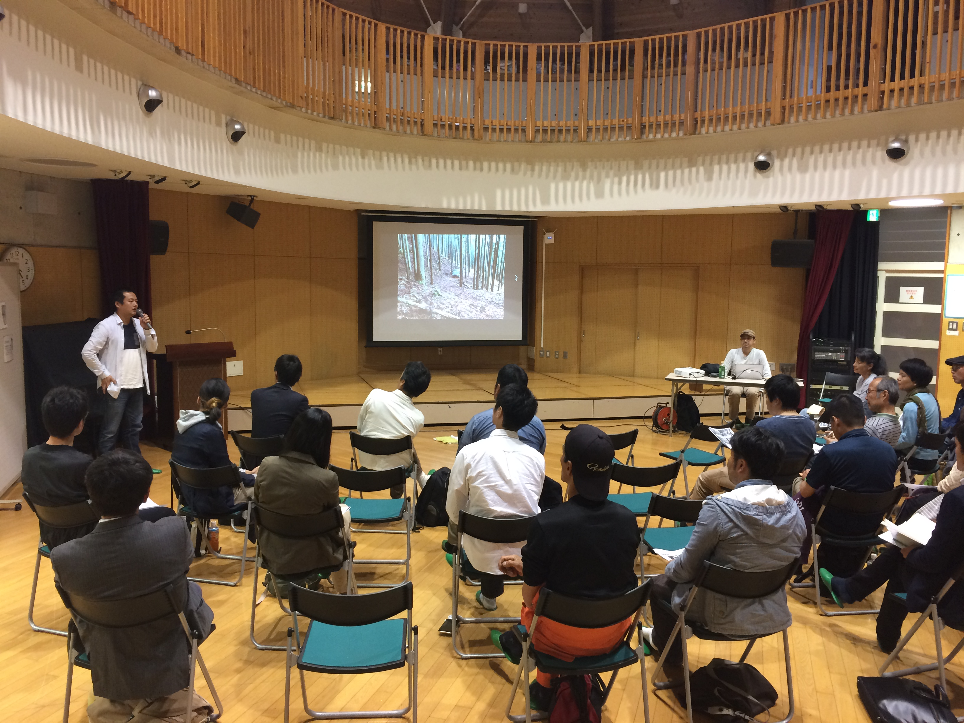 千葉県大多喜町で交流会を開催しました。