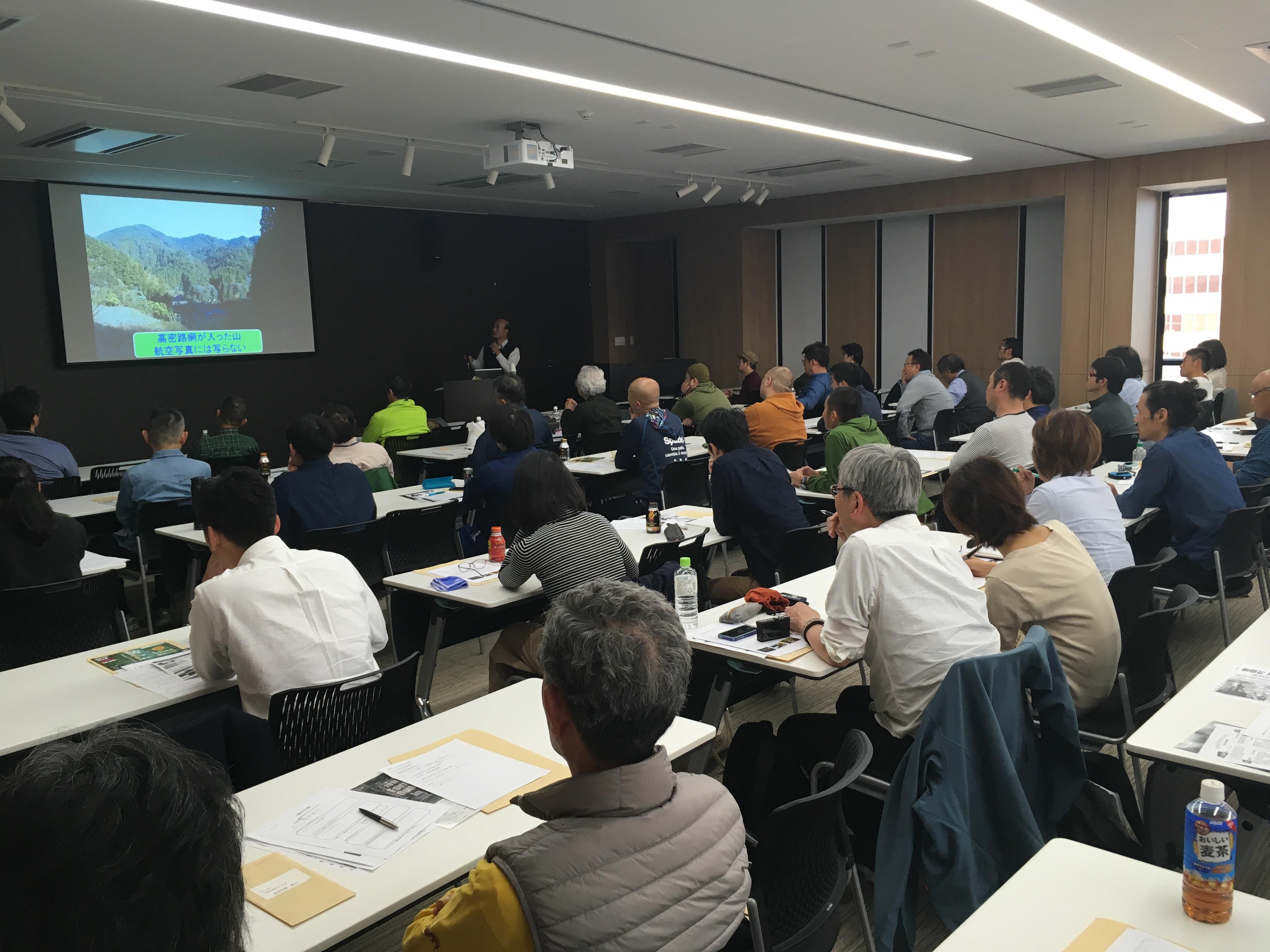 奈良フォーラム「壊れゆく森」は大盛況 ─ 山守を育成する「大和森林管理協会」が発足