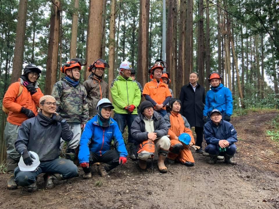 千葉県大多喜町が自伐型林業者(地域おこし協力隊)を募集(2020年2月7日締切)