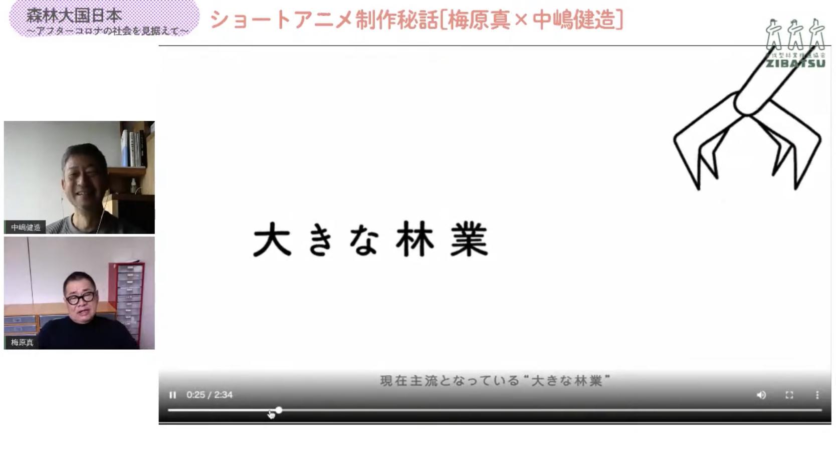 アニメ「200年後の森」を公開!