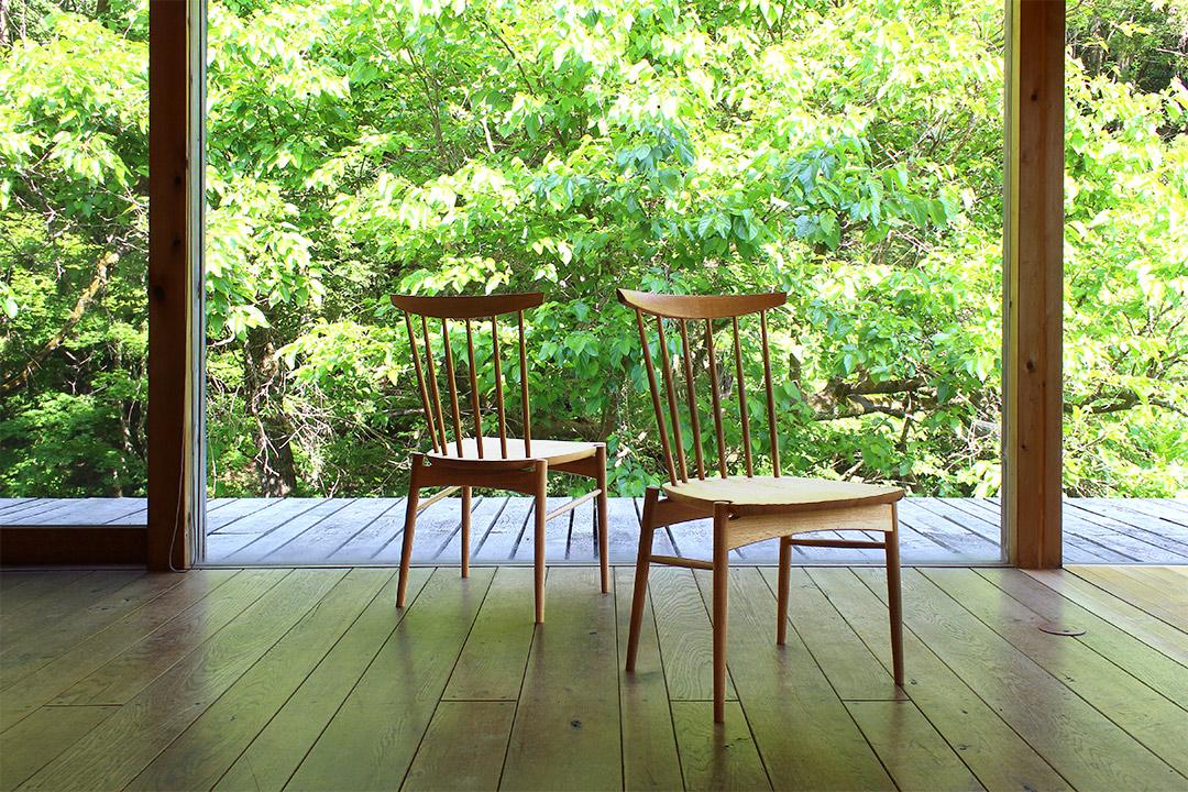 自伐材の椅子「Mori:to(モリート)チェア」完成!オークヴィレッジ×みなかみ町