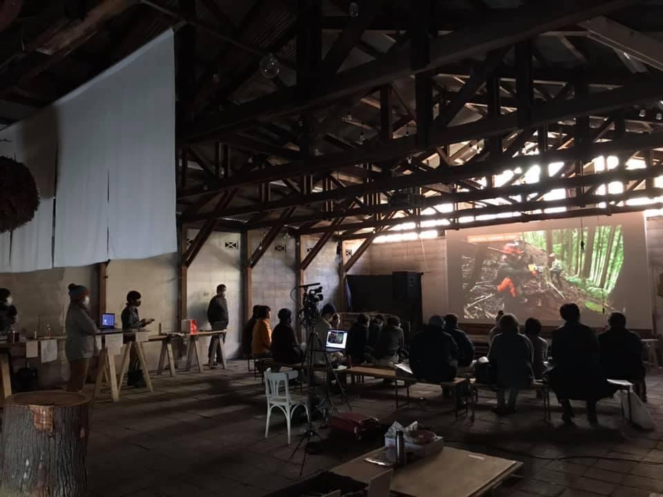 映画完成記念上映会&トークを開催しました。