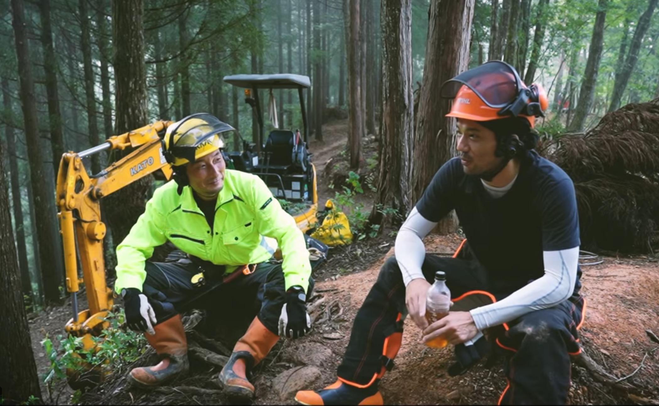 劇団EXILE主演の自伐型林業PR映像を福井市が制作しました。